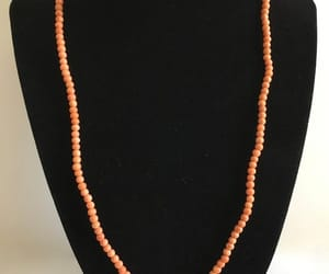 etsy, salmon color, and small coral beads image