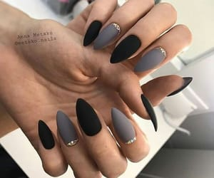 grey, nails, and simple image