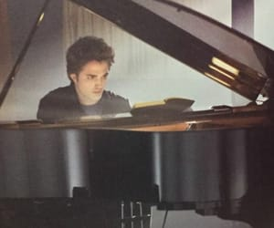 twilight, piano, and edward image