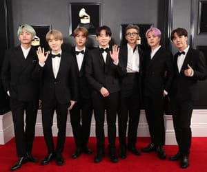 grammy, jin, and kpop image