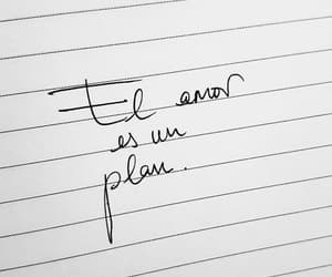amor, letras, and plan image