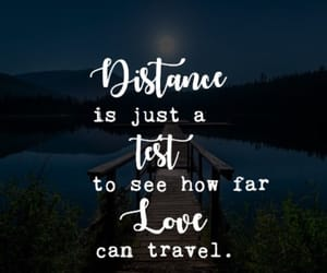 heartbreak, long distance, and love quotes image