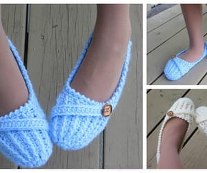 knitting and slippers image