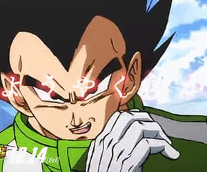dbs, dbz, and prince vegeta image