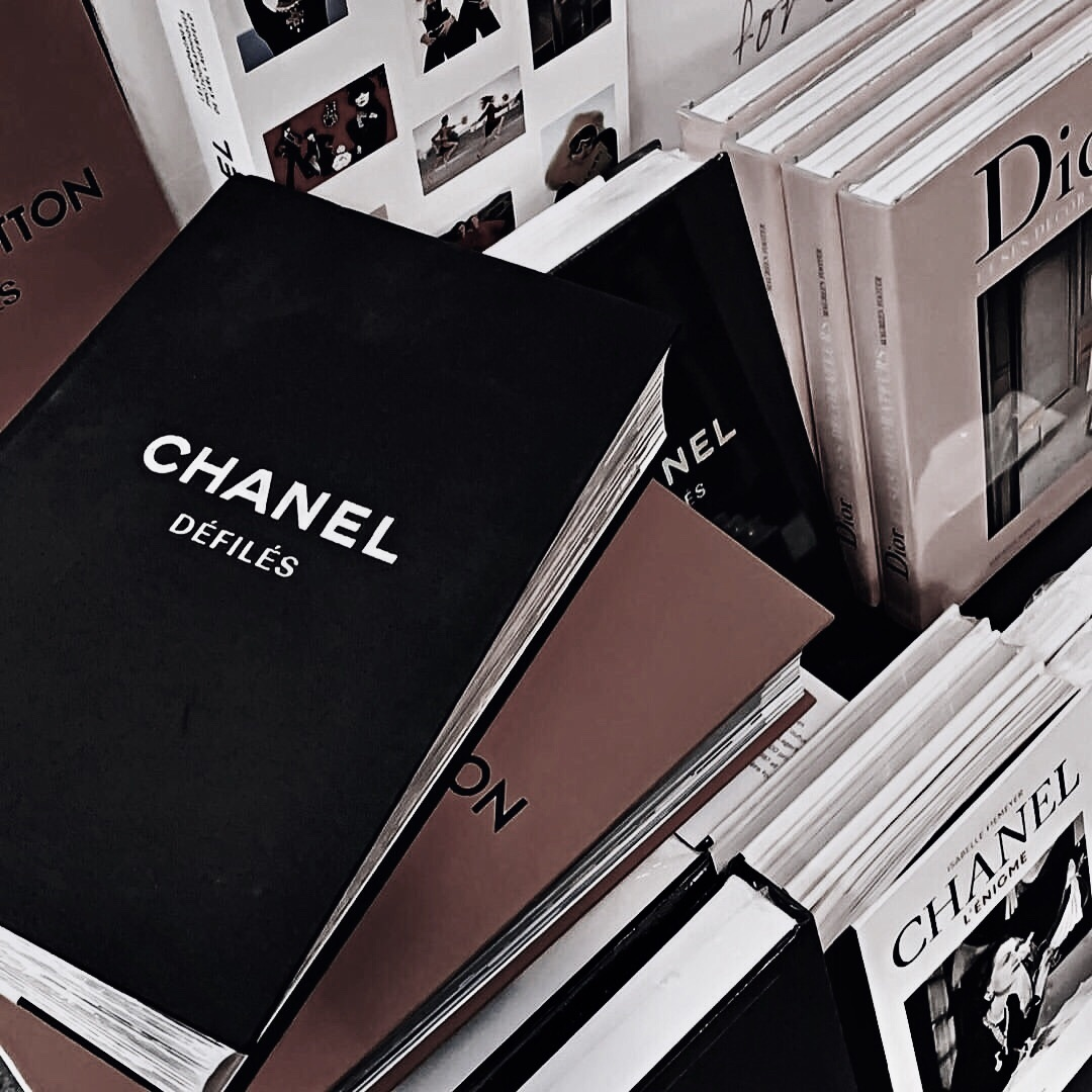 books, chanel, and aesthetic image