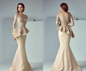 gown, modest, and modest gown image