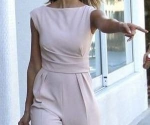 jumpsuit, modest, and modest outfit image