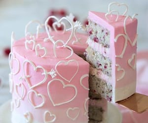 pink, valentin, and backen image