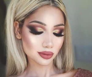 aesthetic, estrella, and eyelashes image