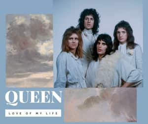 70s, blue, and Freddie Mercury image