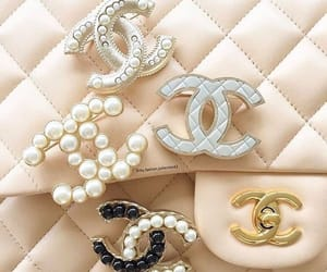 chanel and pearls image