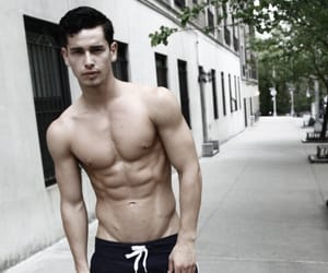 abs, guys, and hot boy image