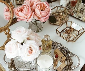 flowers, luxury, and perfumes image