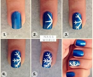 autum, blue, and christmas image