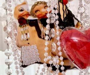 chandelier, vintage decor, and valentines gift image