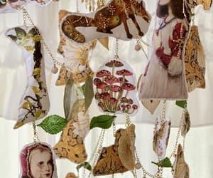 mori girl, woodland animals, and woodland wedding image