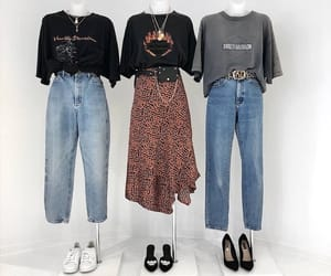clothes, jeans, and modern image