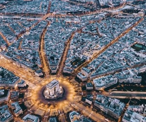 above, beautiful, and eiffel tower image