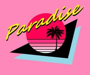 aesthetic, background, and paradise image