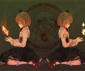 anime, umineko no naku koro ni, and lové image