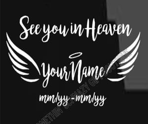 angels, etsy, and Vinyl Decal image