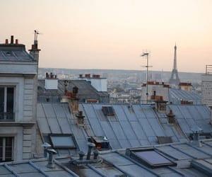 rooftop, paris, and lové image