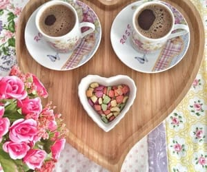 candy, coffee, and heart image