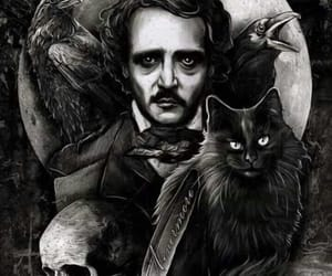 emo, gothic, and poe image