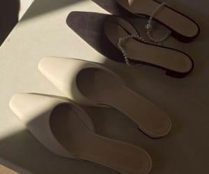 black, shoes, and slides image