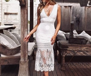 clothes, clothing, and lace dress image