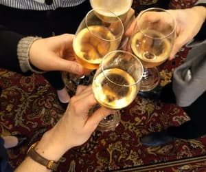 carpet, champaign, and drink image