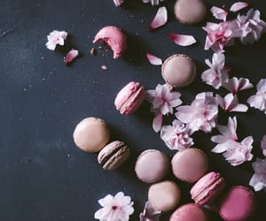 almond, flower, and purple image