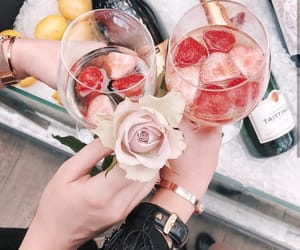 champagne, chic, and juice image