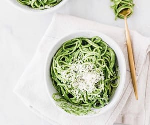 green and pasta image