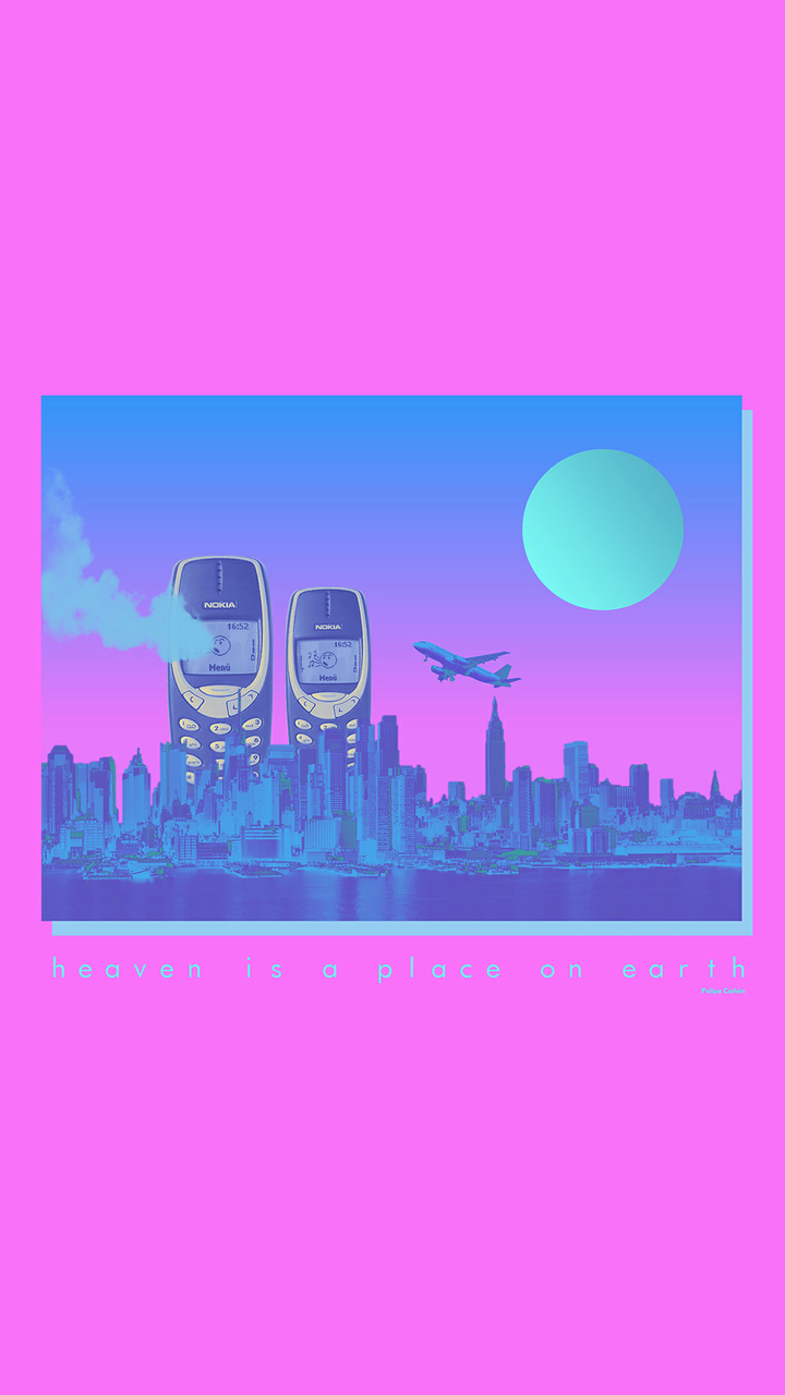 Wallpaper By Felipe Canon Credits App Vaporwave Wallpapers