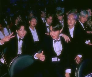 bts, kpop, and 90s image