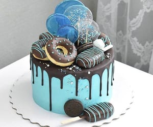 blue, cakes, and candy image