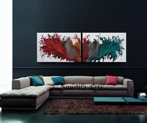 abstract art, abstract paintings, and abstractart image