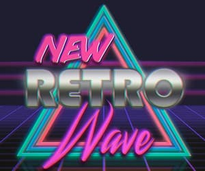 aesthetic, background, and neon image