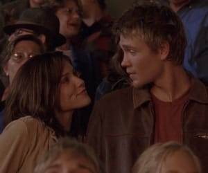 brooke davis, chad michael murray, and lucas scott image