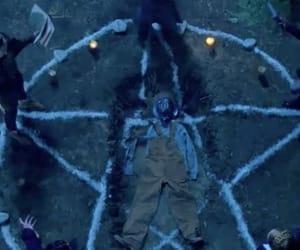 666, creepy, and diabolic image