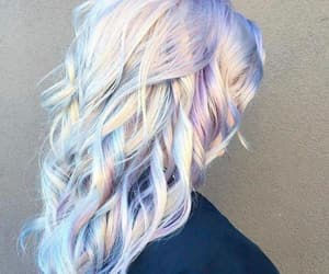 colourful, girly, and hair dye image