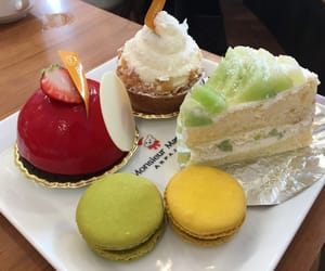 cafe, sweets, and cake image