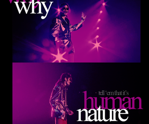 human nature, michael jackson, and this is it image
