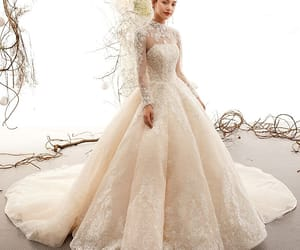 bridal, lace, and wedding dresses 2019 image