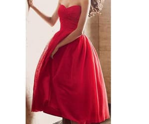 red prom dresses, beautiful prom dresses, and prom dresses a-line image