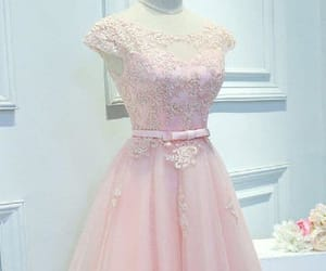 prom dresses pink and homecoming dress lace image