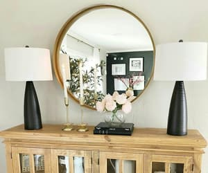 black, pink, and decor image