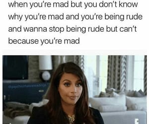 funny, kim, and mad image