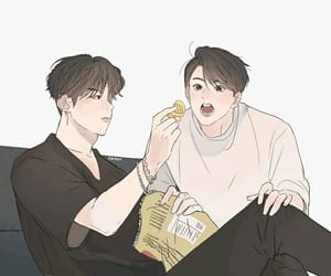 fanart, yoonkook, and 방탄소년단 image
